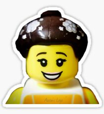 The Ballerina has come to Aaron's Lego Sticker