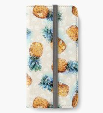 Pineapples + Crystals iPhone Wallet/Case/Skin