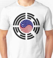 Korean American Multinational Patriot Flag Series 4.0 Slim Fit T-Shirt
