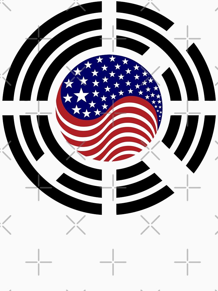 Korean American Multinational Patriot Flag Series 4.0 by carbonfibreme