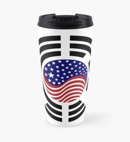 Korean American Multinational Patriot Flag Series 4.0 Travel Mug