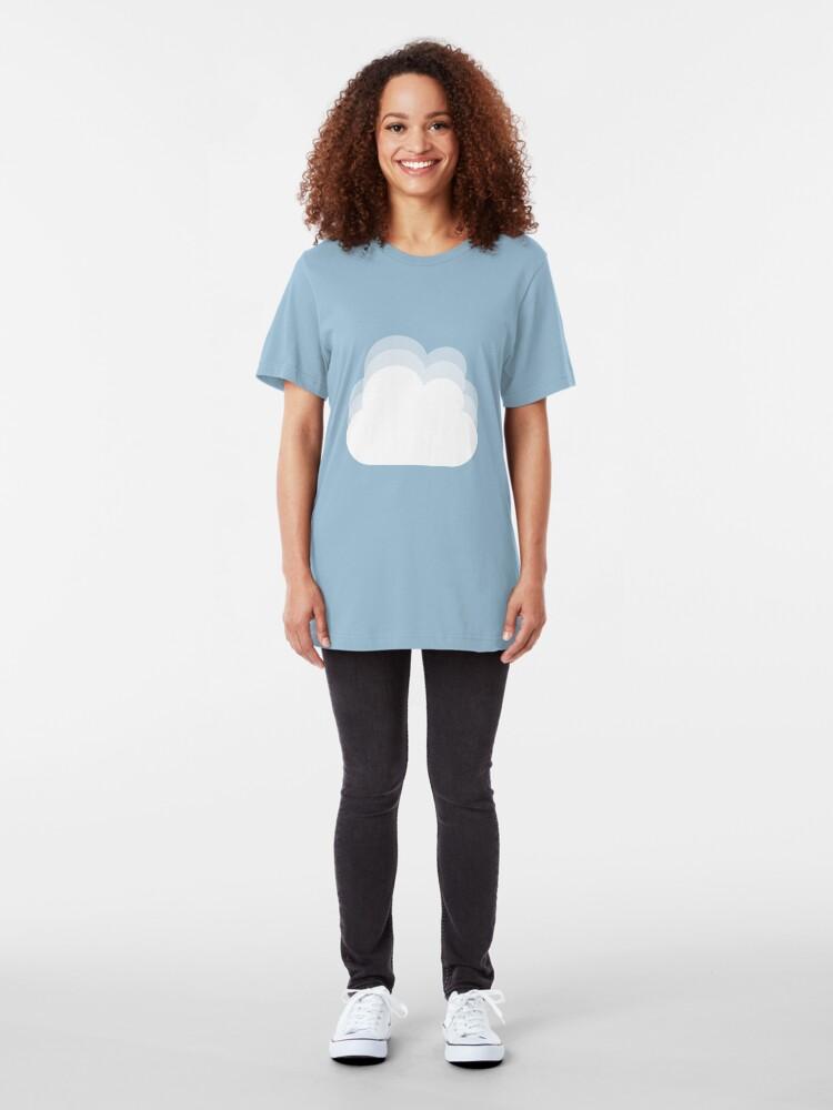 Alternate view of Cloud(s) Slim Fit T-Shirt