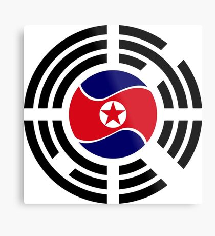 Korean Unity Flag  Metal Print
