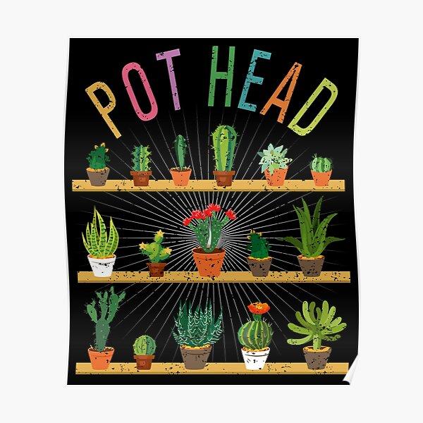 Plants T Pot Head Succulent Gardener Plant Gardening