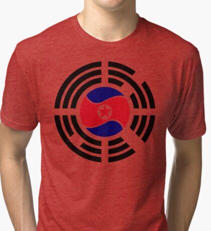 Korean Unity Flag  Tri-blend T-Shirt