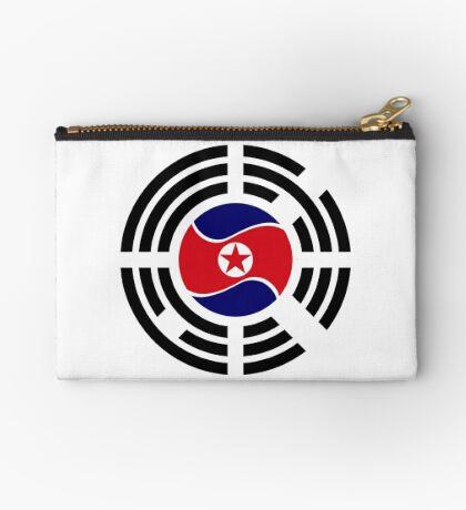 Korean Unity Flag  Zipper Pouch