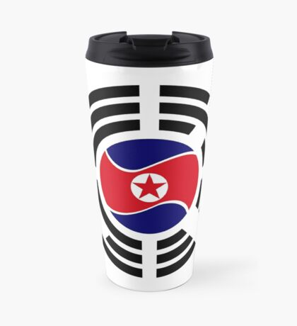 Korean Unity Flag  Travel Mug