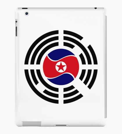 Korean Unity Flag  iPad Case/Skin