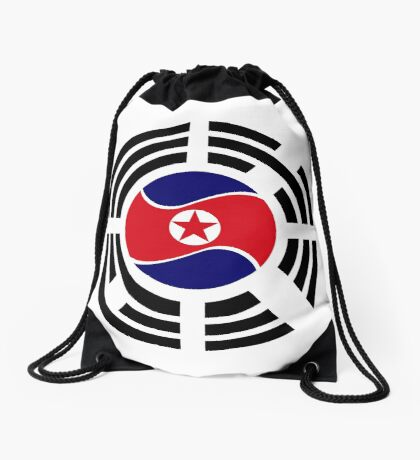 Korean Unity Flag  Drawstring Bag