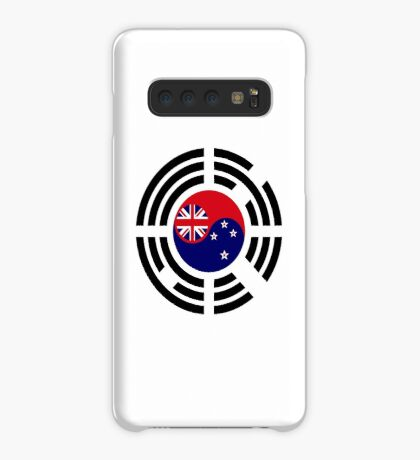 Korean Kiwi (New Zealand) Multinational Patriot Flag Series Case/Skin for Samsung Galaxy