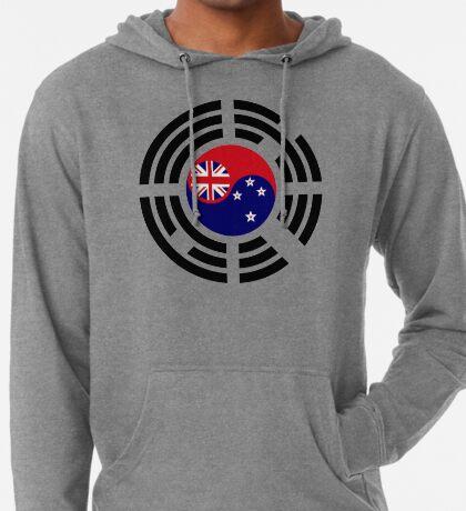 Korean Kiwi (New Zealand) Multinational Patriot Flag Series Lightweight Hoodie