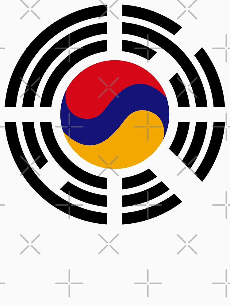 Korean Armenian Multinational Patriot Flag Series by carbonfibreme