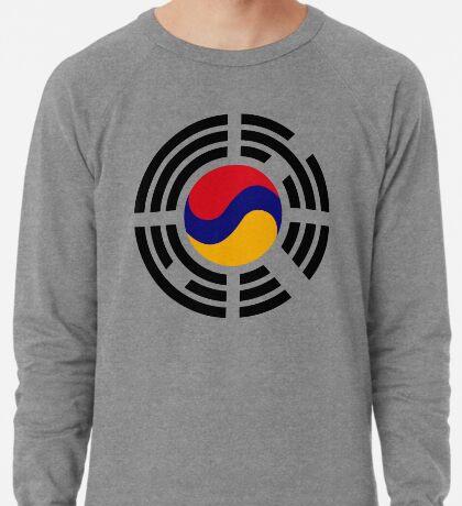 Korean Armenian Multinational Patriot Flag Series Lightweight Sweatshirt