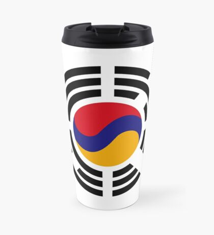 Korean Armenian Multinational Patriot Flag Series Travel Mug