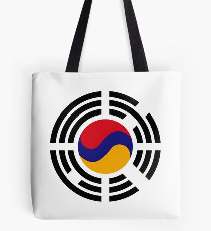 Korean Armenian Multinational Patriot Flag Series Tote Bag
