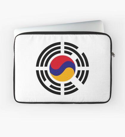 Korean Armenian Multinational Patriot Flag Series Laptop Sleeve