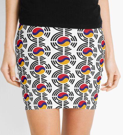Korean Armenian Multinational Patriot Flag Series Mini Skirt