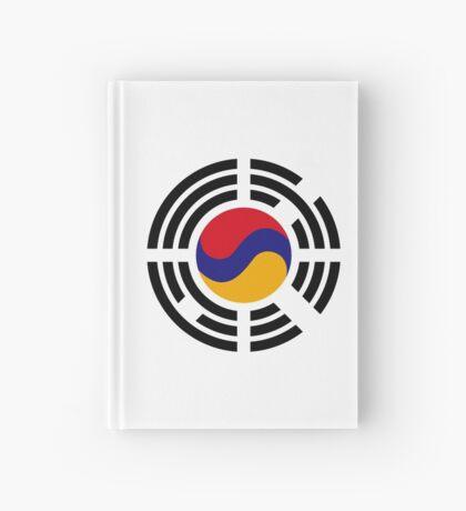 Korean Armenian Multinational Patriot Flag Series Hardcover Journal