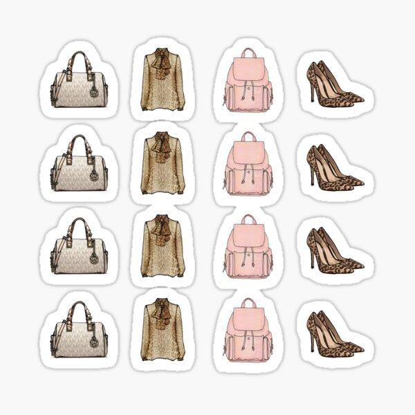 Fashion Accessories Sticker Pack Sticker