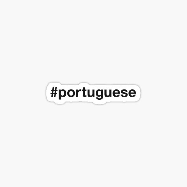 PORTUGAL Hashtag Sticker
