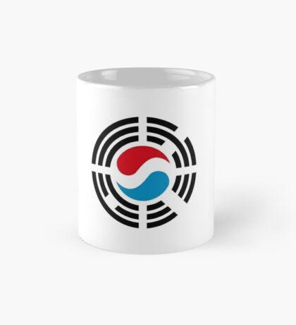 Korean Luxembourg Multinational Patriot Flag Series Mug