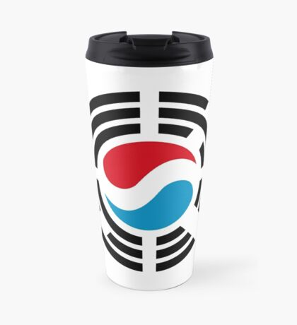 Korean Luxembourg Multinational Patriot Flag Series Travel Mug