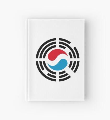 Korean Luxembourg Multinational Patriot Flag Series Hardcover Journal