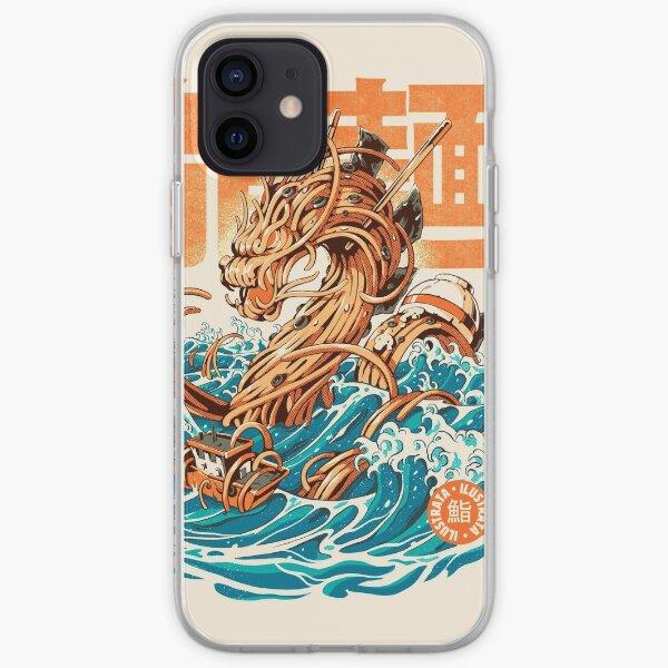 Great Ramen Dragon off Kanagawa iPhone Soft Case