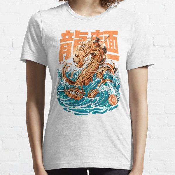 Great Ramen Dragon off Kanagawa Essential T-Shirt