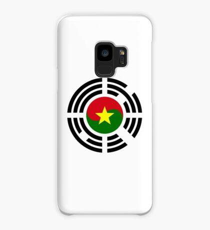 Korean Burkina Faso Multinational Patriot Flag Series Case/Skin for Samsung Galaxy