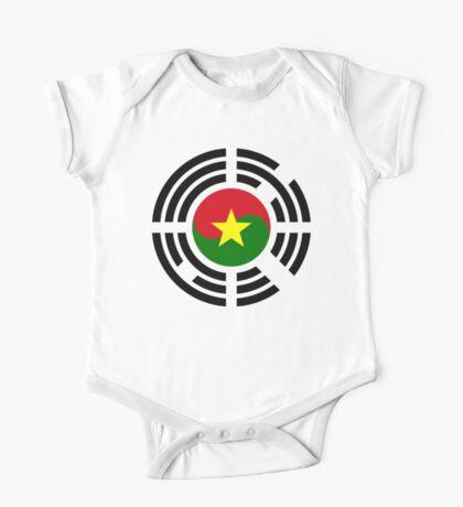 Korean Burkina Faso Multinational Patriot Flag Series Kids Clothes