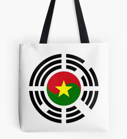 Korean Burkina Faso Multinational Patriot Flag Series Tote Bag