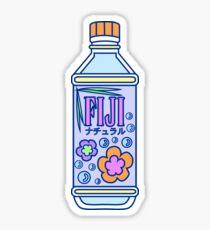 Aesthetic Fiji Water Bottle! Sticker