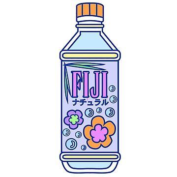 ¡Botella de agua estética de Fiji! de PennySoda