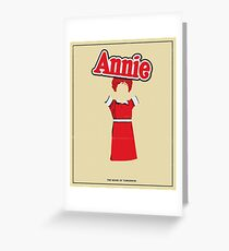Annie Greeting Card
