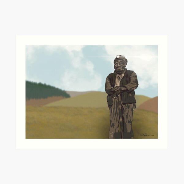 Keeper of the Collieries Art Print