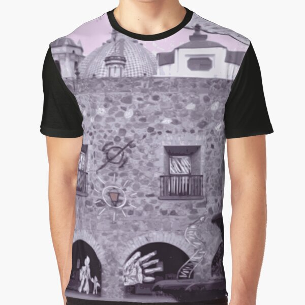 Pink Skyes at the Plaza Graphic T-Shirt