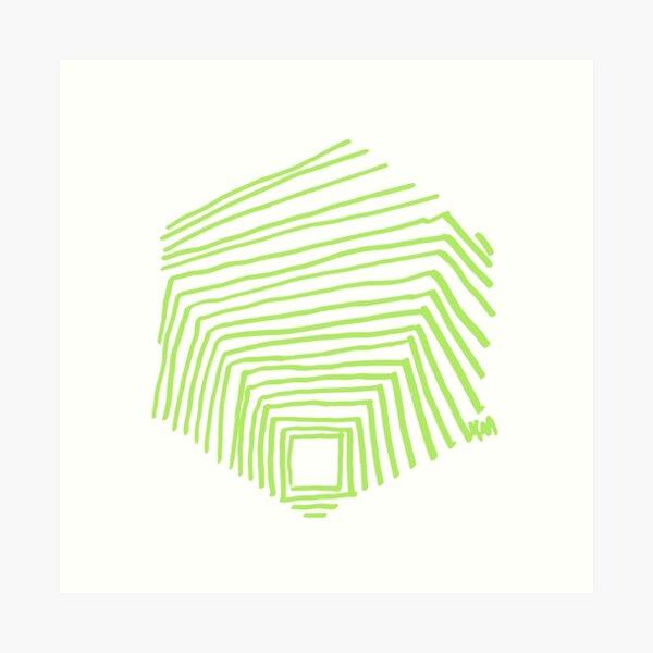 2021 02 sketchbook green 01  Art Print