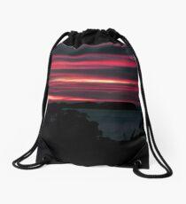 Dynamic Dawn Drawstring Bag