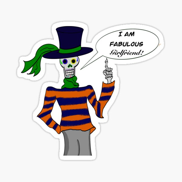 Fashionably Dead Sticker