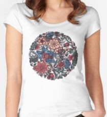 Circle of Friends in Colour Women's Fitted Scoop T-Shirt