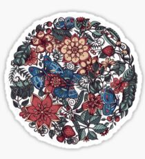 Circle of Friends in Colour Sticker