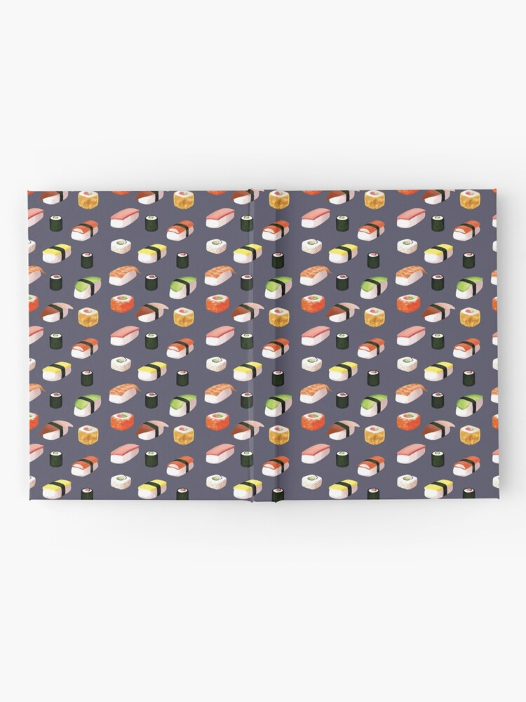 Alternate view of sushi Hardcover Journal