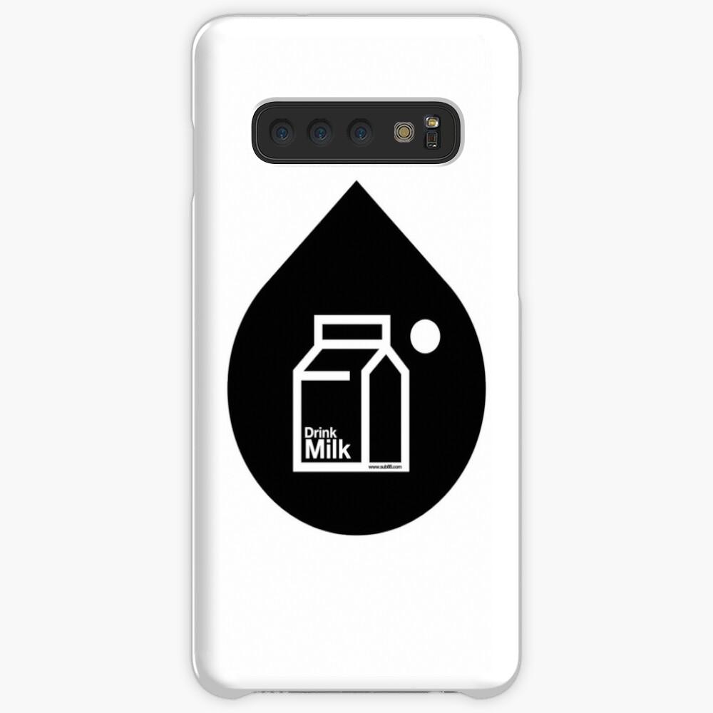 Milk - (Black) Case & Skin for Samsung Galaxy