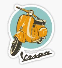 Classic Vespa Sticker