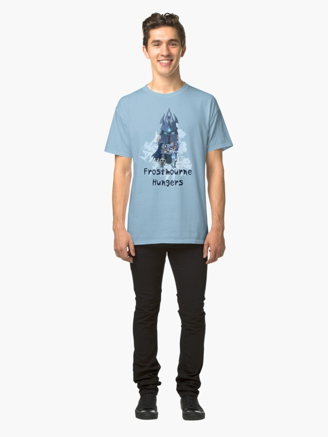 Alternate view of Frostmourne Hungers Classic T-Shirt
