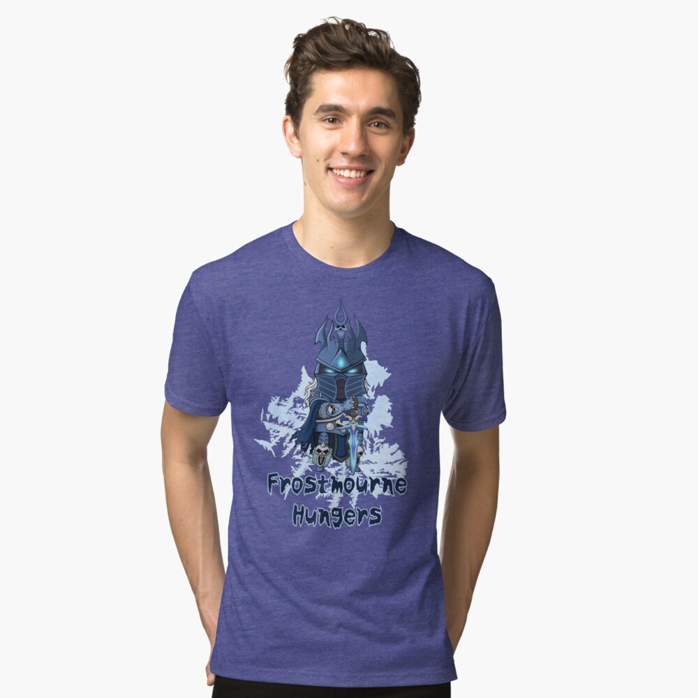 Frostmourne Hungers Tri-blend T-Shirt