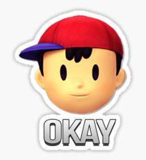 Ness - Okay Sticker