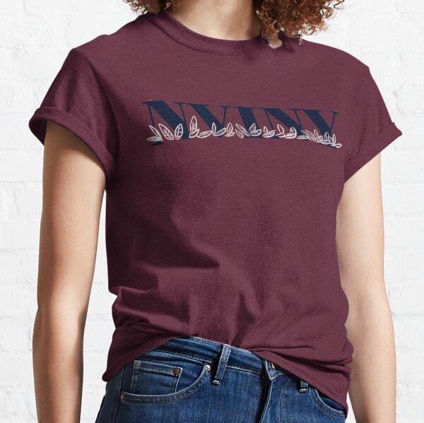 NVINY University Font Logo Classic T-Shirt