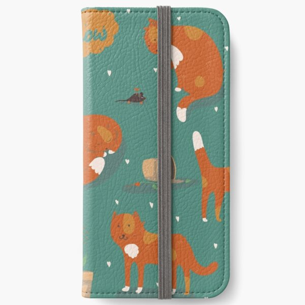 Ginger cats iPhone Wallet